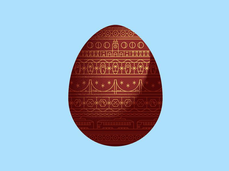 🐰 tram san francisco egg