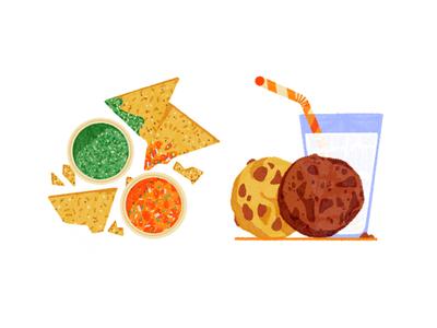 Mission District 004 san francisco food milk cookies salsa chips