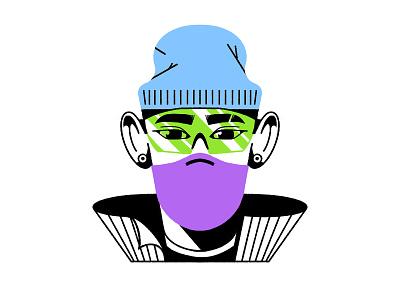 Mojo Jojo 2o2o procreate characterdesign character