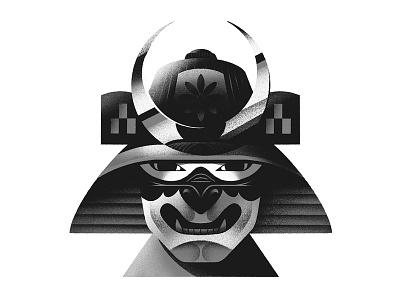 👹 characterdesign procreate samurai