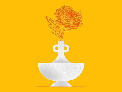 🌼🌼🌼 procreate vase plant flower