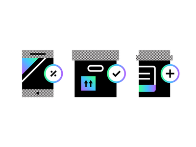 🏁🏁🏁 medication discount shipping technology icons