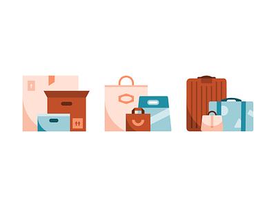 🛍 sketch suitcase travel