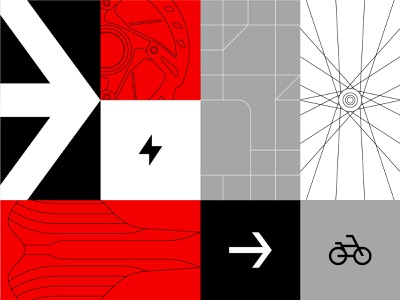 JUMP map graphicdesign mural electric bicycle uber jump