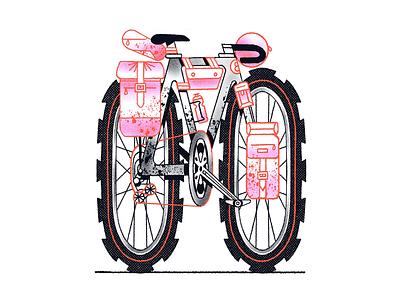 ⛰⛰⛰ bike health procreate bicycle gravel