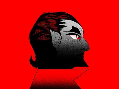 🧛🏻♂️ illustration character dracular halloween vampire