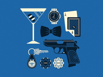 007 aston matin watch tuxedo gun casino martini 007 james bond