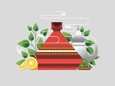 Morocco Loco tea olives lemon mint tagine morocco