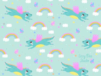 Dragon Coordinate Pattern