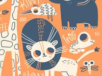 Cute Safari Poster