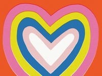True Love Heart Illustration
