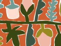 Flower Banner Illustration