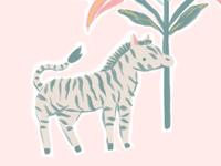 Little Zebra Big Flowers