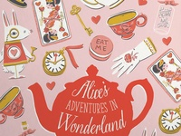 Alice's Adventures in Wonderland Cover Illustration