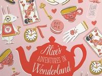Alice's Adventures in Wonderland Cover Illustration