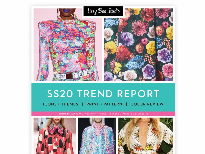 New SS20 Trend Report out now! illustration pattern design pattern surface pattern trend report design trend trending trends