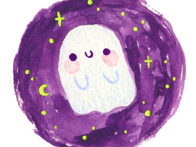 Cute Little Ghost