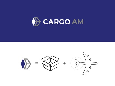 Cargo AM branding logo brand graphic design design