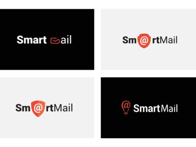 SmartMail  Logo Design Variations