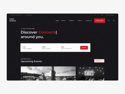 RoyalTickets - Events Booking WordPress Theme stripe payfast paypal directory shop tickets events tickets shop events directory clean responsive wordpress theme wordpress theme business