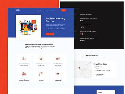 Social Marketing Course wordpress tickets theme shop multivendor events directory