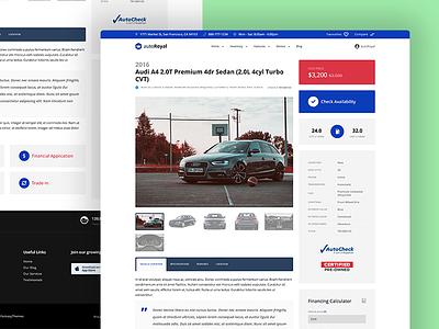 autoRoyal - Automotive WordPress Theme auto automotive car car dealer car rental cars dealers leads market marketplace rent a car sell cars vehicles website ui ux