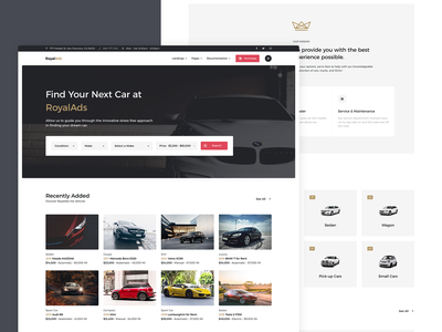 Directory Template WIP inspiration landing dealership auto business clean design ui ux website html wip template classified ads automotive job listing job board real estate listings directory