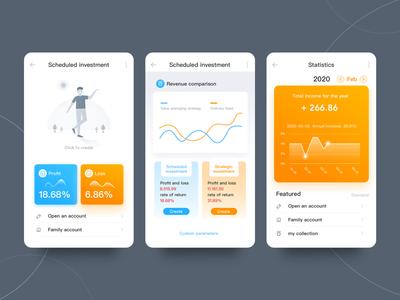 Fund wealth management software-APP app design ux ui