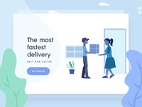 Package Delivery Illustrations