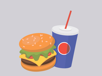 fast food and drink
