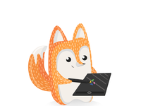 Fox for the contest from XP-PEN