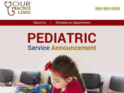 Pedriatic Service