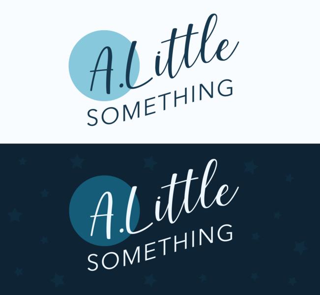 A. Little Something Branding vector typography logo branding