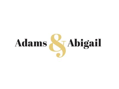Fashion Logo - Adams & Abigail