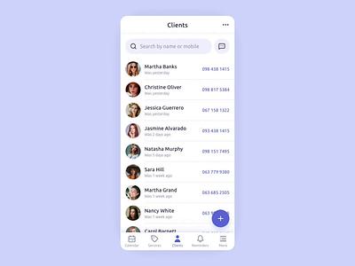 Repito App. Send Bulk Message send message ux ui adobe xd prototype motion interaction animation interface app mobile app design customers clients crm