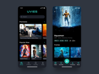 UVIES - Movies and TV Shows App