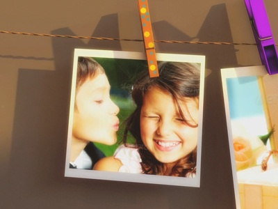 Clothesline Photo Gallery videohive template after effects clothespin wedding shower wedding baby shower motion graphics clothesline