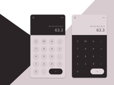 Calculator - Daily UI #004 figma design calculator app calculator dailyui004 dailyui uxdesign ui