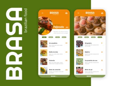 Pricing  - Daily UI Challenge #030 dailyui030 pricing food app brasa brazilian food brazil design app uxdesign dailyui ui