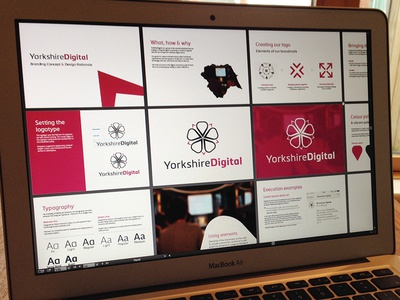 Yorkshire Digital Branding Artboards