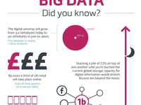 Big Data Infographic for YorkshireDigital