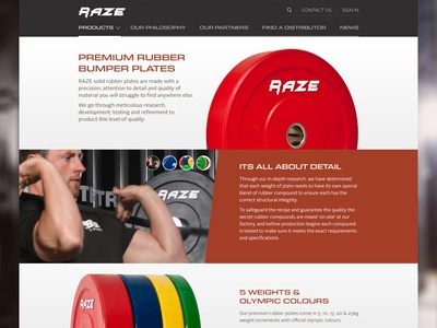 Raze Product Page