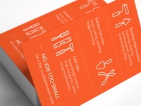 Handyman Business Card Back