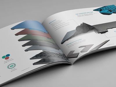 Fitness Flooring Brochure Design