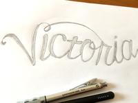 Lettering - Victoria