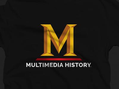Multimedia History - History Channel logo alphabet logos multimedia brandlogo logobranding graphicdesign minimalistlogo logo