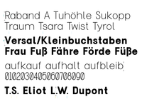 Typeface, October 17