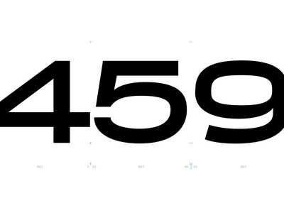 459 typeface