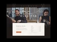 Apéritif - Wine bar