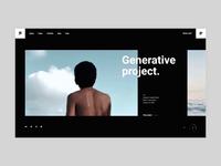 Pearce - Fixed Project Slider agency typogaphy bold portfolio branding creative animation minimalism minimal design flat website web ux ui